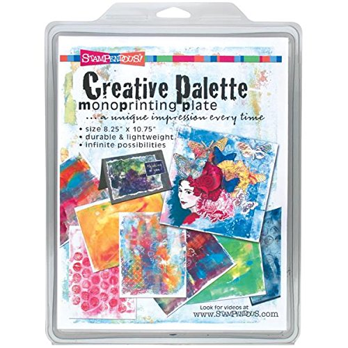 STAMPENDOUS Creative Palette/Monoprinting Plate