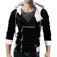 Seven Rocks Men's Cotton Hooded Jacket
