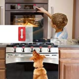 Baby Safety Oven Knob Locks - Childproof and Pet