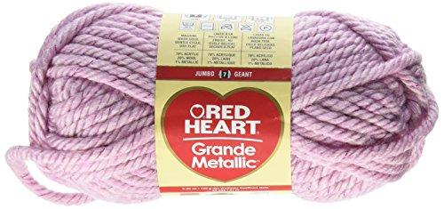 Red Heart Grande - Red Heart Grande Metallic yarn, Mulberry