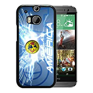 Popular And Unique Custom Designed Case For HTC ONE M8 With Club America 4 Black Phone Case