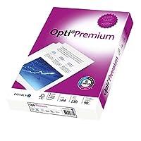 Opti Papiere de qualité supérieure 90 g/m ²/88081821, DIN A4, blanc, 90 g/m ², Inh. 250