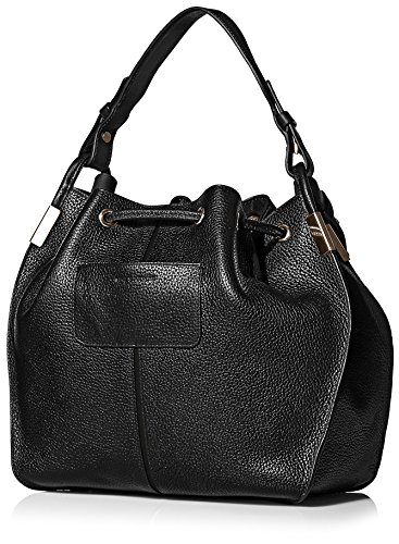 Time's LIDA Bucket Arrow Women's Black Bag WrYYwC0qH1
