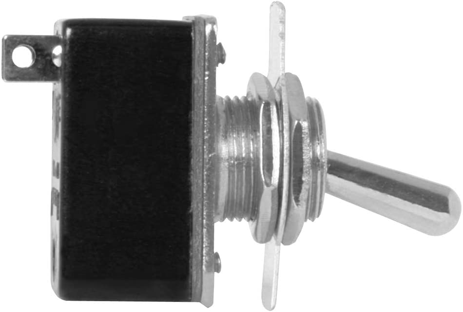 , on-Off, 2 Pin, 125V, 3Amp Grand General 67970 Toggle Switch