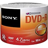 Sony DVD-R Media 50 Pack