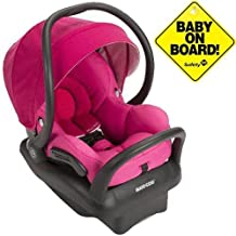 Maxi-Cosi IC160DCN - Mico Max 30 Infant Car Seat w Baby on Board Sign - Pink Berry by Maxi-Cosi