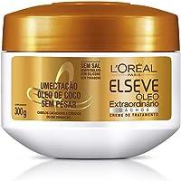 Creme de Tratamento Óleo Extraordinário Cachos Elseve L'Oréal Paris 300 ml, L'Oréal Paris