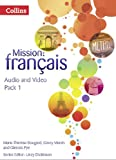 img - for Mission: Francais: Audio Video Pack 1 book / textbook / text book