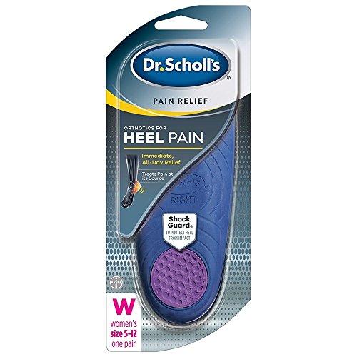 Dr. Scholl's Heel Pain Relief Orthotics, Women's 5-12, 1 Pair