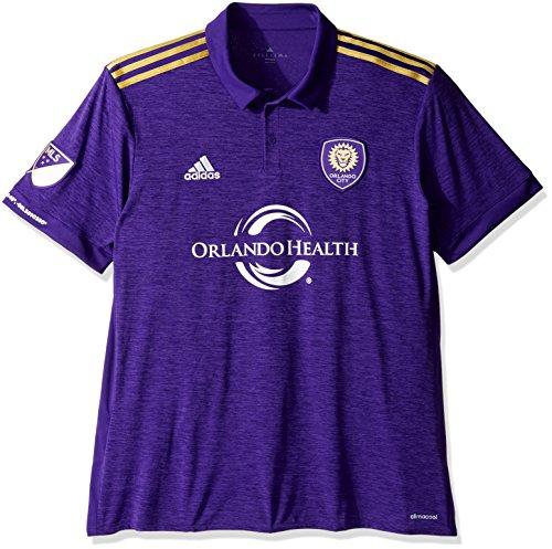 駐地無許可戦略adidas Orlando City SC Home Soccer Jersey/サッカーユニフォーム オーランド?シティSC ホーム用