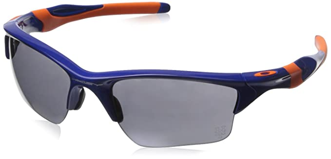 oakley half jacket golf array sunglasses  oakley men's half jacket 2.0 xl oo9154 42 rectangular sunglasses, blue,