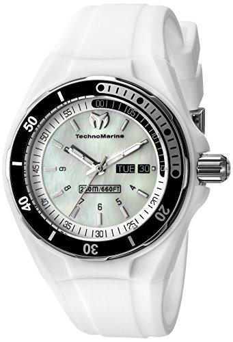 Technomarine Women's TM-115123 Cruise Sport Analog Display Swiss Quartz White Watch