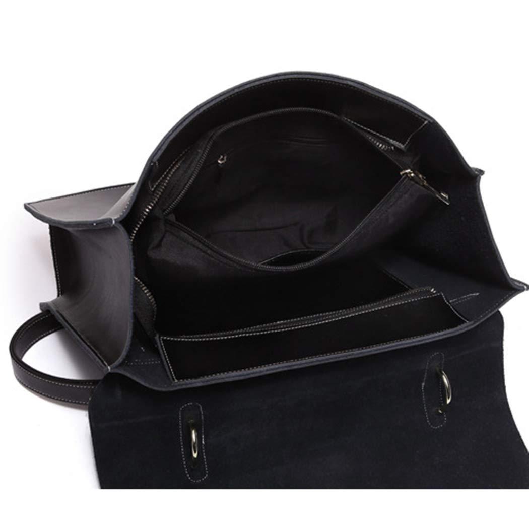 Damhandväska axelväska messengerväska retro skjorta handtag handväska axelväska läder kvinnlig axelväska Vinröd