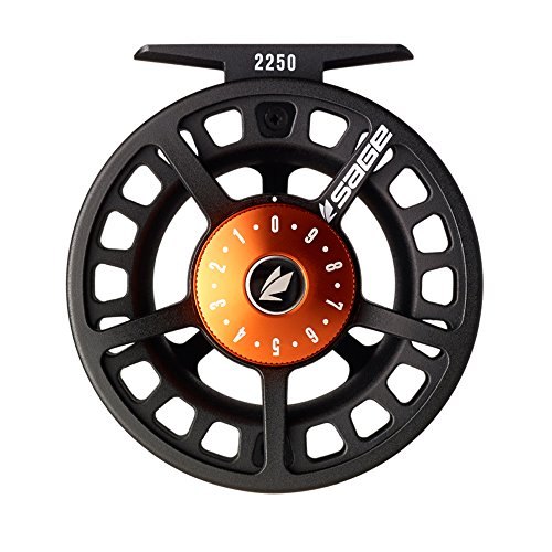 Sage 2230 Fly Reel-Black/Blaze (3/4 wt)