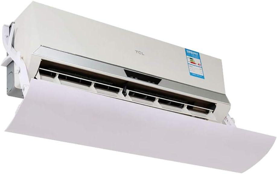 El Aire Acondicionado del Dormitorio Deflector de Viento, Refugio de Salida de Aire previene el soplado Directo, Colgando Universal Deflector a Prueba de Viento (Size : Length 94CM): Amazon.es: Hogar