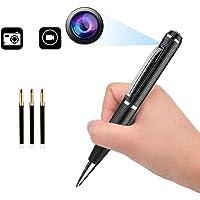 Spy Cameras Pen Hidden Mini Camera Spy Pen Video Recorder with Audio Portable Safety Surveillance Camera Spy Cam Office…