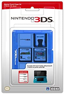Nintendo 3DS Game Card Case 24 - Blue (B004K6LQC6) | Amazon price tracker / tracking, Amazon price history charts, Amazon price watches, Amazon price drop alerts
