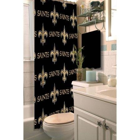 Image Unavailable Not Available For Color The Northwest Company NFL New Orleans Saints Shower Curtain