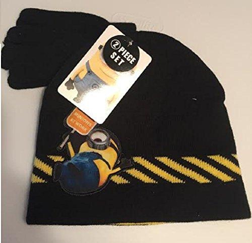 Laplander Knit Peruvian - Hat Danger! MINIONS At Work ~ Knit Hat Beanie