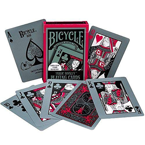 - Bicycle 1018404 Tragic Royalty Playing Cards