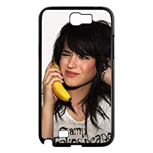 QSWHXN Diy Phone Case Katy Perry Pattern Hard Case For Samsung Galaxy Note 2 N7100