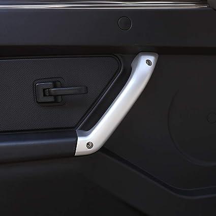 Tirador para puerta interior de coche, de aleación de aluminio, para accesorios NIVA (2 unidades): Amazon.es: Coche y moto