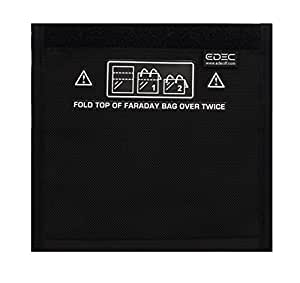 Black Hole Faraday Bag - Standard Non-Window Size - Signal Blocking, Anti-tracking, Anti-spying, Radiation protection for Cell Phones, Key Fobs and Credit Cards
