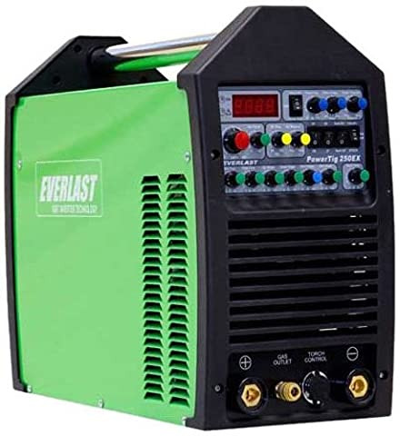 Everlast PowerTig 250EX AC DC TIG Stick Pulse Welder 220/240 Volt Inverter (Everlast 250ex Tig Welder)