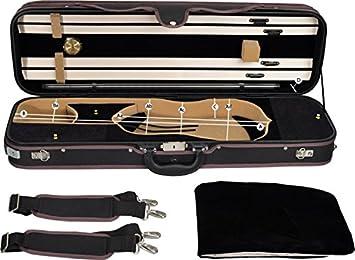 Estuche de violín Steinbach 4/4 modelo rectangular beige ...