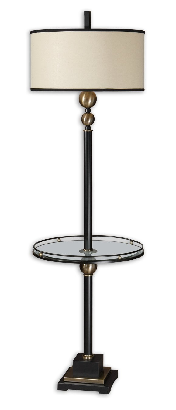 Uttermost Revolution End Table Floor Lamp