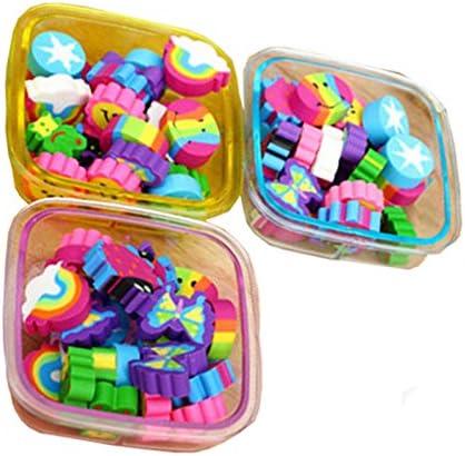 22pcs / Caja Cute Gomas de borrar Escolar Papeleria Regalo para ...