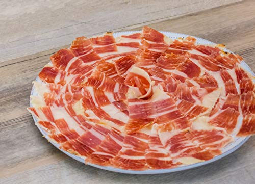 La Jamoteca - Pure Bellota Iberico Ham, Premium Quality, Hand Carved Style, 4 years curated, 100% Iberico, Pata Negra, 4 Packages - (2oz Each) by Loveiberico (Image #1)