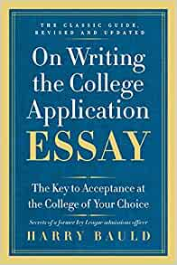 College application essay writing help harry bauld download