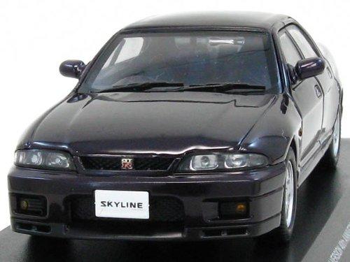 1/43 スカイラインGT-R(R33)オーテックバージョン40thアニバーサリー4ドア ミッドナイトパープル K03711MP