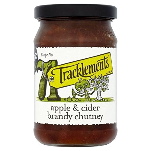 (Tracklements Apple & Cider Brandy Chutney 320g - Pack of 2)