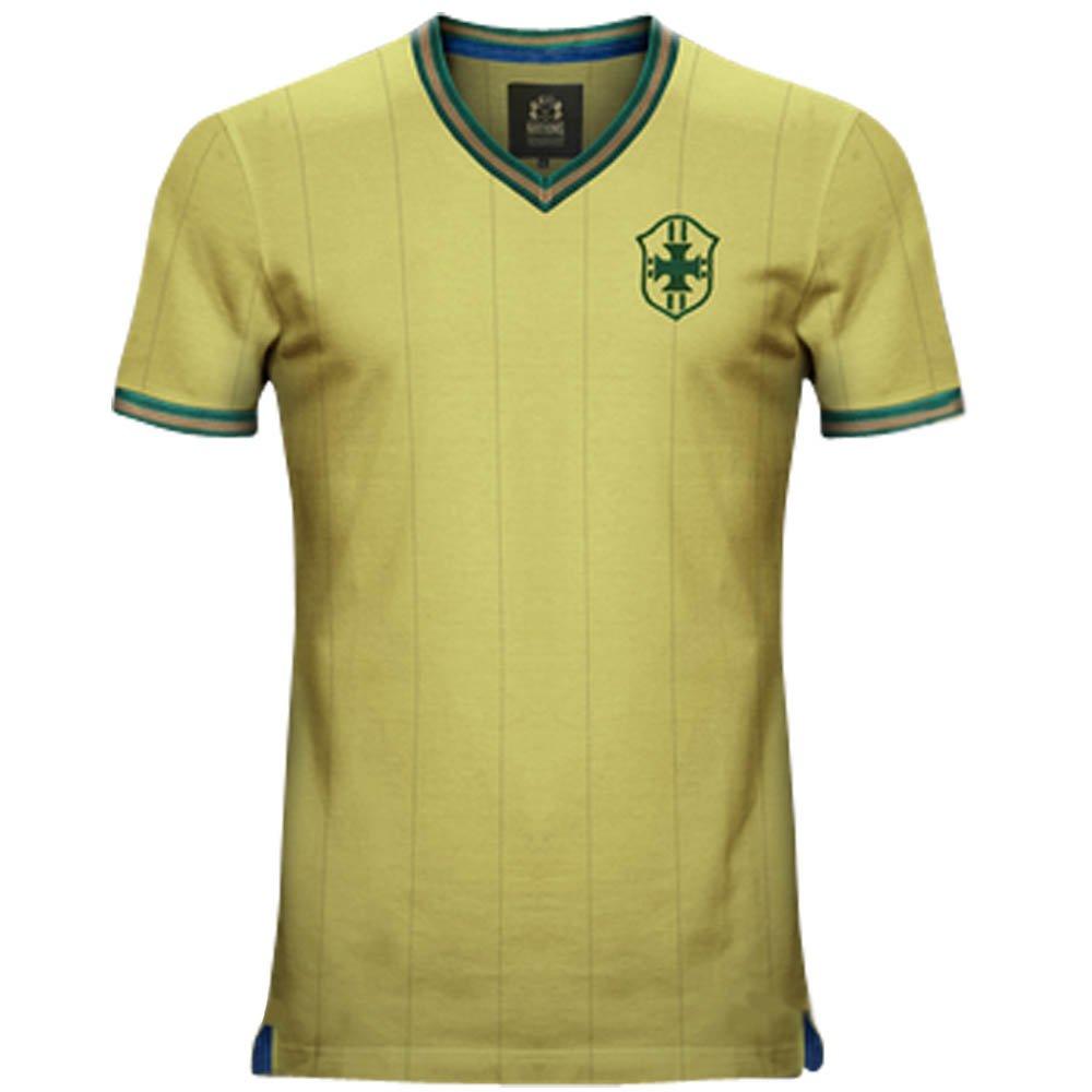 Vintage Home Brazil Home Vintage Soccer Jersey 66ae18