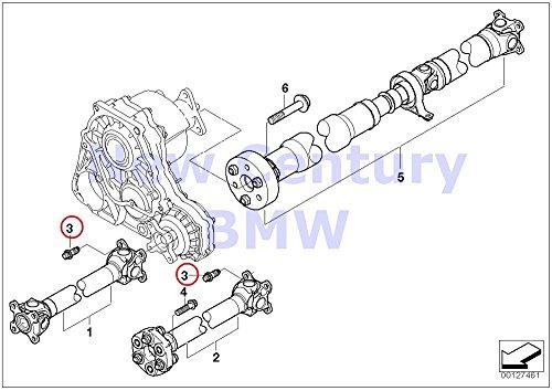 4 X BMW Genuine Torx Screw With Ribs M10X23-10-Zns3 320i 323Ci 323i 325Ci 325i 325xi 328Ci 328i 330Ci 330i 330xi X5 4.8i X5 M X6 50iX X6 M Hybrid X6 128i X3 2.5i X3 3.0i X3 3.0i X3 3.0si Z4 2.5i Z4 3.