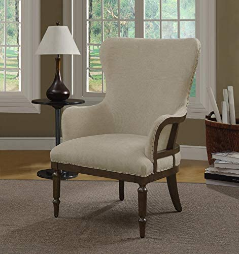 Pulaski Wood Framed Wingback Arm Chair