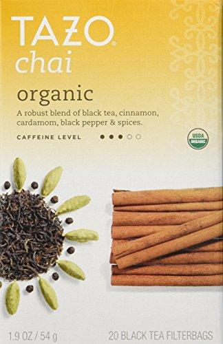 TAZO tea chai org, 1.9 oz, Pack of 2