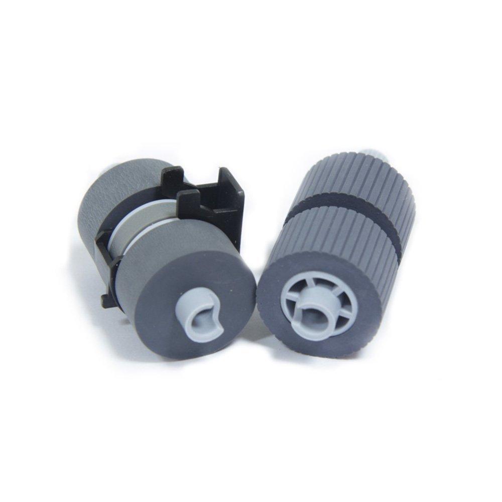 PA03338-K011 Pick Roller Set of 2 Rollers for Fujitsu Fujistu FI-6670 Fi-6770 6770A 5650C FI-5650C FI-5750C 5750 Scanner