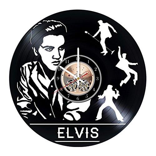 Elvis Presley Vinyl Record Wall Clock 12