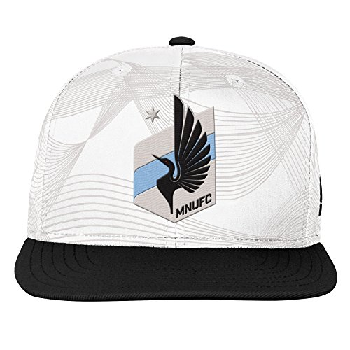 Outerstuff MLS Minnesota United Youth Boys Fan Sublimated Snapback, 1 Size, Hint