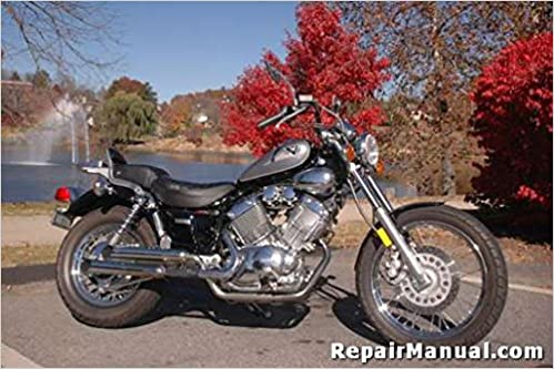 CPP-150-P Yamaha Virago XV535 Cyclepedia Printed Motorcycle ... on
