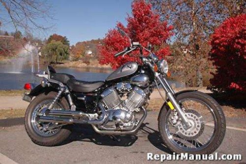 CPP-150-P Yamaha Virago XV535 Cyclepedia Printed Motorcycle ... on
