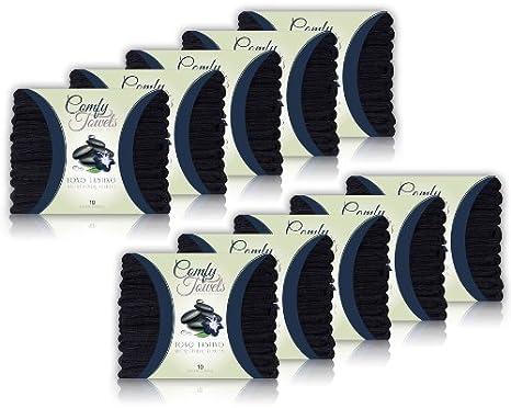 Comfy Microfiber Salon Towels 10 Pack, 29 x 16 29 x 16 Comfy Towels TL-02BLK