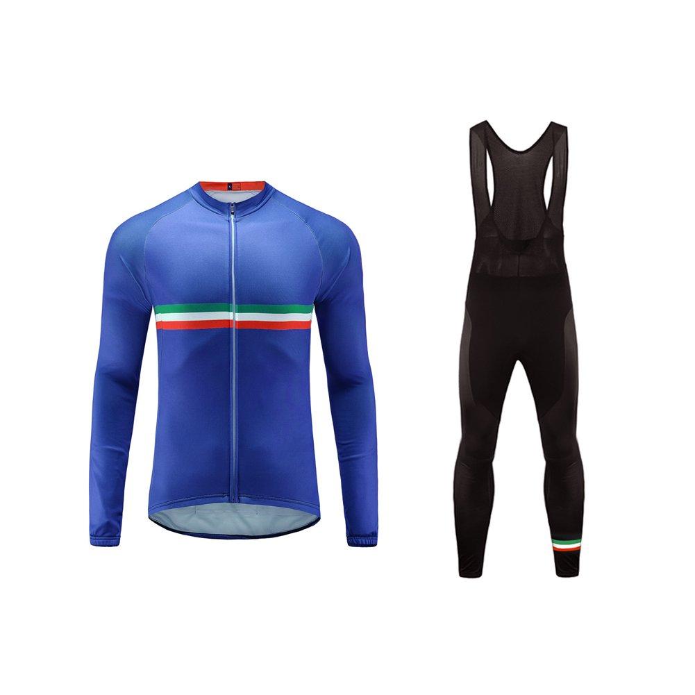Uglyfrog #32 Männer Radfahren Langarm Radfahren Jersey Winter with Fleece eine Menge Farben Antislip Ärmel Cuff Road Bike MTB Top Riding Shirt