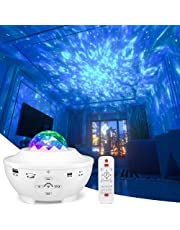 Star Projector, Galaxy Night Light Projector with Remote Control & 10 Color Effects, Built in Speaker and Timer, Nebula Cloud Ceiling Light Projector for Baby Kids Adults Bedroom/Game Rooms/Home Party