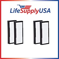 2 Packs of 2 HEPA Replacement Filters for Alen air TF30 for T100 and T300 Air Purifiers by LifeSupplyUSA