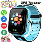 [SIM Card Included] Kids Smart Watch Phone GPS Tracker for Girls Boys Touch
