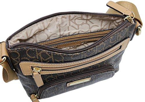 Handbag Logo Bag Klein Zipper Crossbody Calvin P8pfF4F